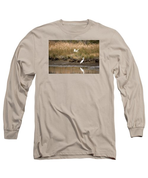 Long Sleeve T-Shirt featuring the photograph Taking Flight by Rebecca Davis