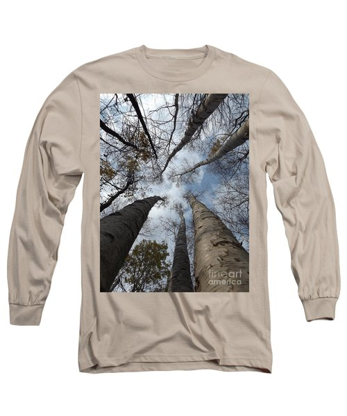 Tall Birch Circle Long Sleeve T-Shirt