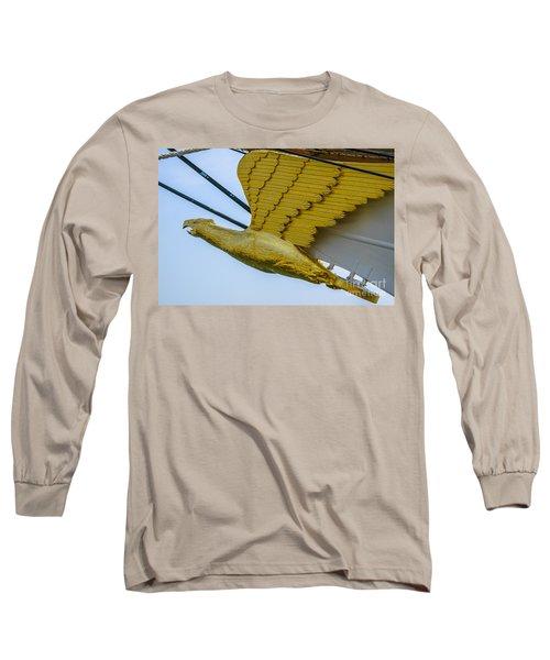 Tall Ship Uscg Barque Eagle Masthead Long Sleeve T-Shirt