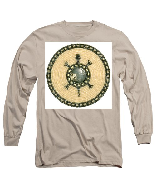 Tan Indian Turtle Long Sleeve T-Shirt