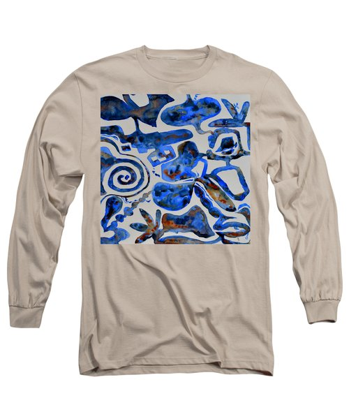 Tangled Up In Blue Long Sleeve T-Shirt