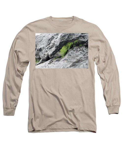 Long Sleeve T-Shirt featuring the photograph Tar  by Minnie Lippiatt