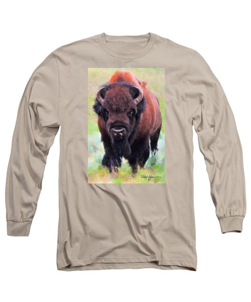 Da105 Tatonka By Daniel Adams Long Sleeve T-Shirt