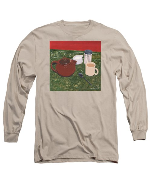 Tea Time Long Sleeve T-Shirt