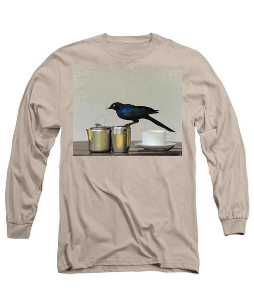 Tea Time In Kenya Long Sleeve T-Shirt by Tony Beck