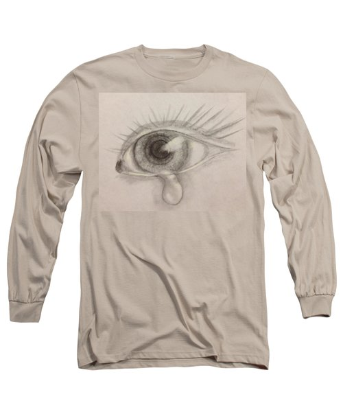 Tear Long Sleeve T-Shirt by Bozena Zajaczkowska