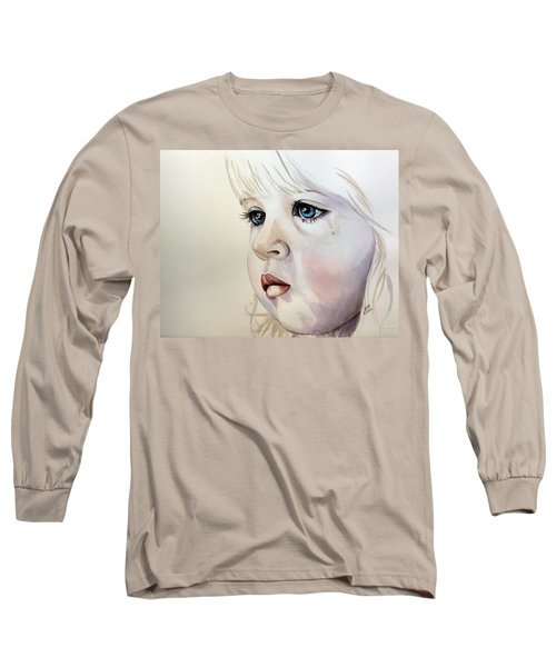 Tear Stains Long Sleeve T-Shirt