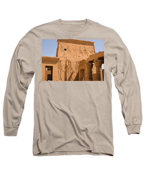 Temple Exterior Long Sleeve T-Shirt