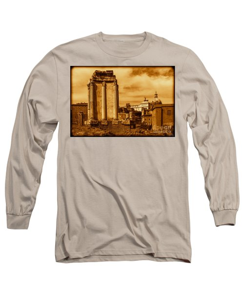 Temple Of Vesta Long Sleeve T-Shirt