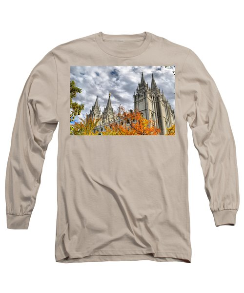 Temple Trees Long Sleeve T-Shirt
