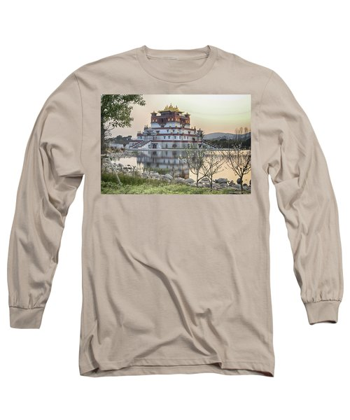 Temple Wuxi China Color Long Sleeve T-Shirt