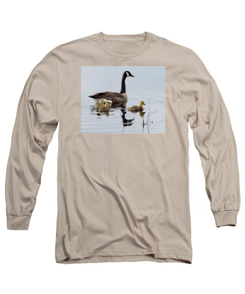 Long Sleeve T-Shirt featuring the digital art Tender Care by I'ina Van Lawick