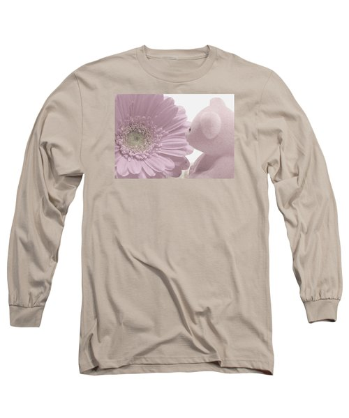 Tenderly Long Sleeve T-Shirt by Angela Davies