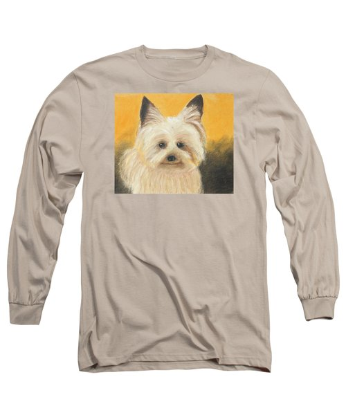 Terrier Long Sleeve T-Shirt by Jeanne Fischer
