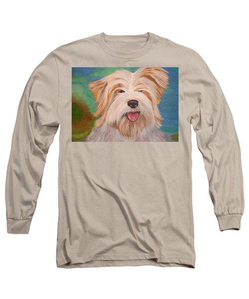 Terrier Portrait Long Sleeve T-Shirt