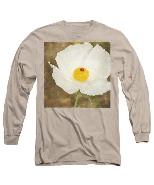 Texas Prickly Poppy Wildflower Long Sleeve T-Shirt