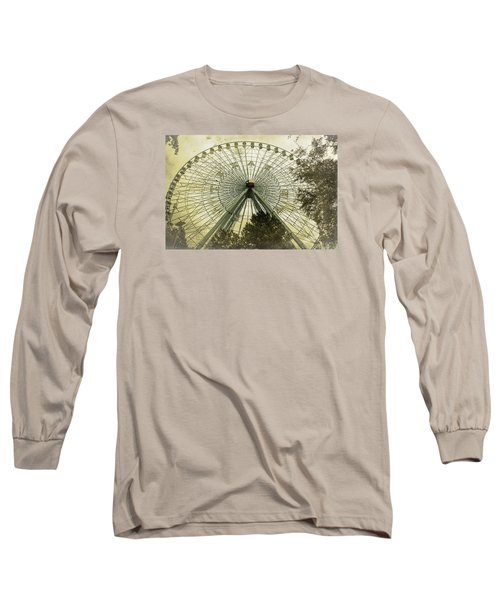 Texas Star Old Fashioned Fun Long Sleeve T-Shirt by Joan Carroll