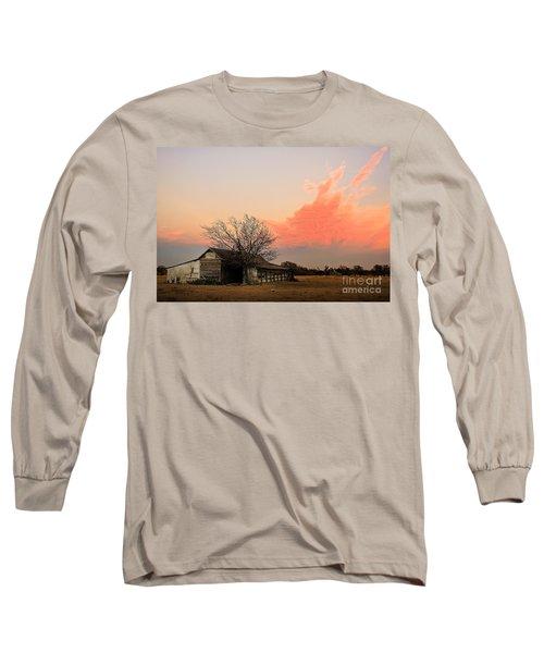 Texas Sunset Long Sleeve T-Shirt
