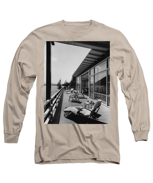 The Alfred Rose Lake Placid Summer Home Long Sleeve T-Shirt