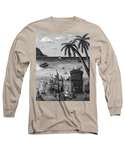 The Bacon Shortage In Bw Long Sleeve T-Shirt