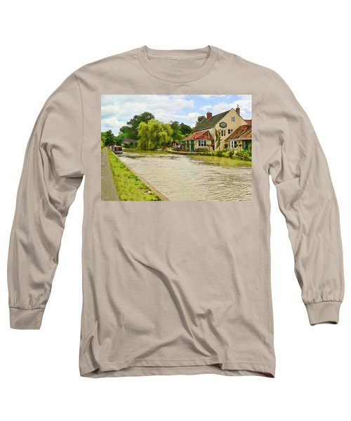 The Barge Inn Seend Long Sleeve T-Shirt