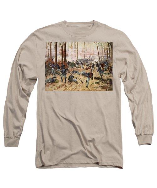 The Battle Of Shiloh April 6th-7th 1862 Long Sleeve T-Shirt