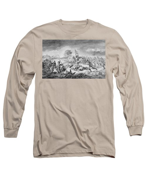 The Battle Of The Crater, Engraved By Ernst Heinemann 1848-1912, Illustration From Battles Long Sleeve T-Shirt