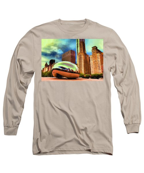 The Bean - 20 Long Sleeve T-Shirt by Ely Arsha