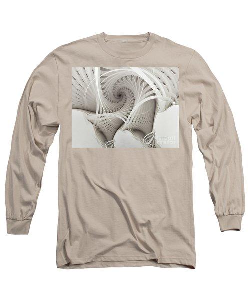 The Beauty Of Math-fractal Art Long Sleeve T-Shirt