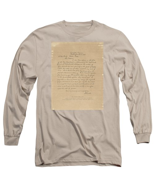 The Bixby Letter Long Sleeve T-Shirt by Celestial Images