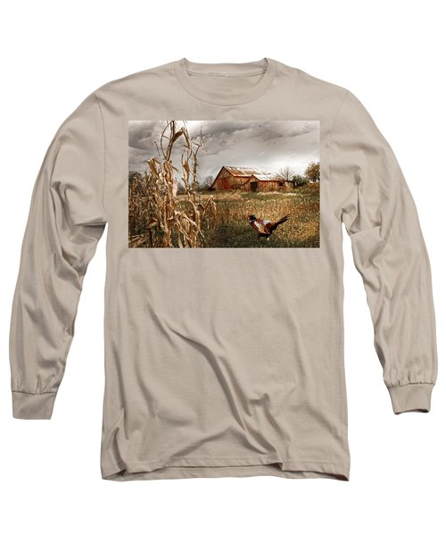 The Blast Off Underfoot Long Sleeve T-Shirt by Randall Branham