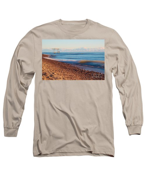 The Boat Hoist Long Sleeve T-Shirt by Patrick Shupert