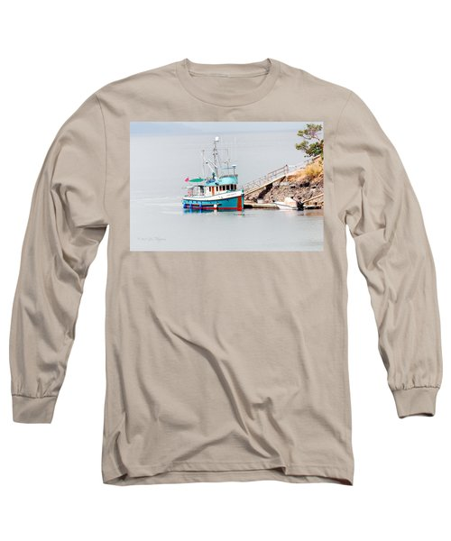 Long Sleeve T-Shirt featuring the photograph The Boat by Jim Thompson
