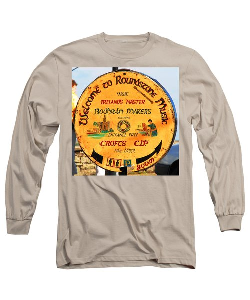 The Bodhran Makers Long Sleeve T-Shirt by Charlie and Norma Brock
