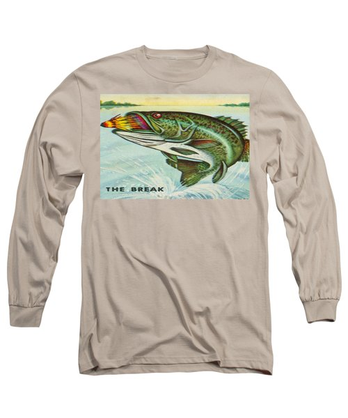 Long Sleeve T-Shirt featuring the digital art The Break by Cathy Anderson