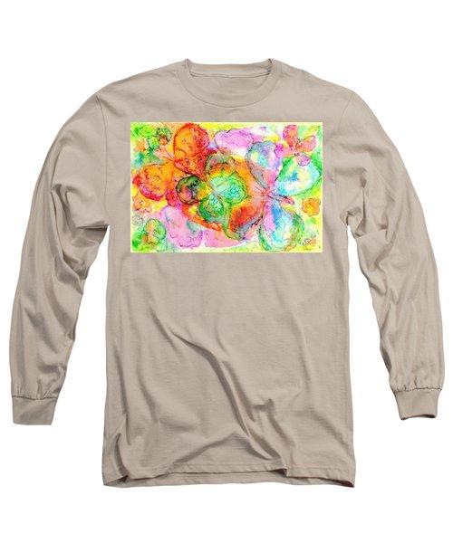 The Butterfly Dance Long Sleeve T-Shirt by Hazel Holland