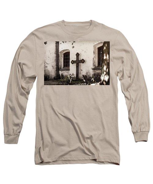 The Church Courtyard Long Sleeve T-Shirt