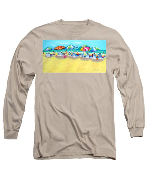 The Color Of Summer  Long Sleeve T-Shirt by Rebecca Korpita