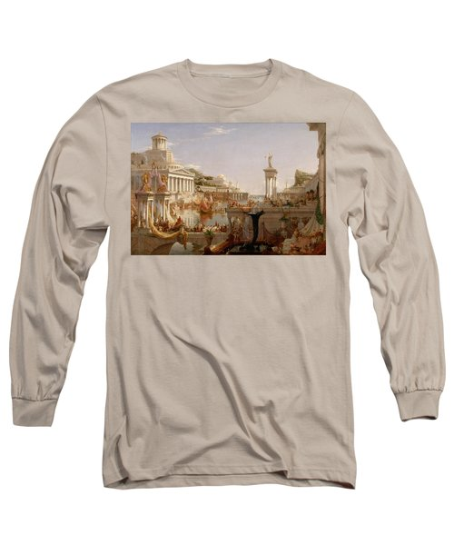 The Course Of Empire Consummation  Long Sleeve T-Shirt