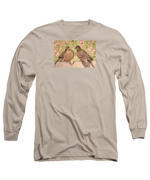 The Courtship Long Sleeve T-Shirt by Angela Davies