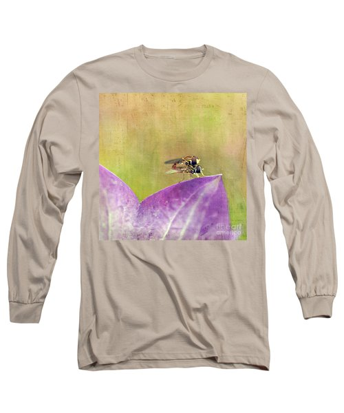 The Dance Of The Hoverfly Long Sleeve T-Shirt