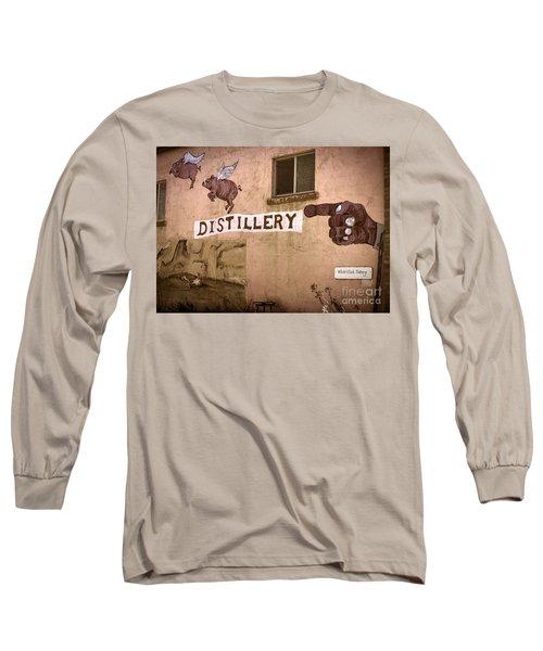 The Distillery Long Sleeve T-Shirt by Janice Rae Pariza