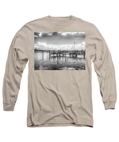 The Dock Long Sleeve T-Shirt by Howard Salmon