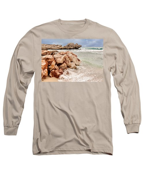 Long Sleeve T-Shirt featuring the photograph The Dragon Of Labadee by Mitchell R Grosky