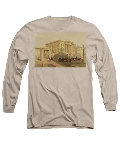 The Exterior Of Apsley House, 1853 Long Sleeve T-Shirt by English School
