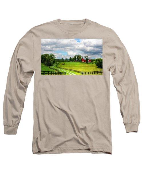 The Farm Long Sleeve T-Shirt by Ronda Ryan