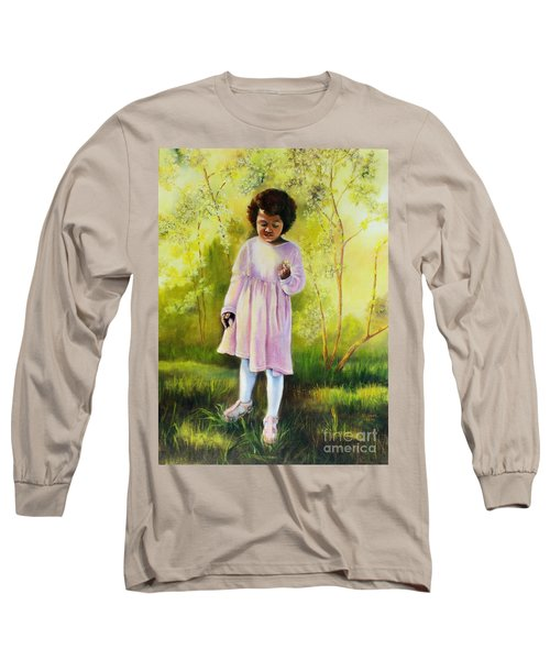 The Forsythia Long Sleeve T-Shirt by Marlene Book