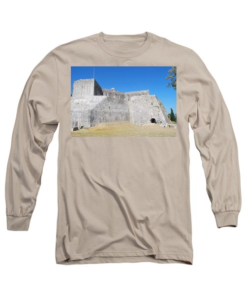 Long Sleeve T-Shirt featuring the photograph The Fort Never Fell by George Katechis