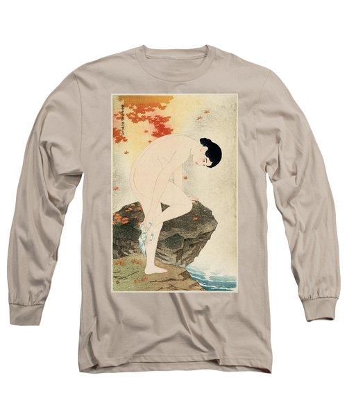The Fragrance Of A Bath Long Sleeve T-Shirt