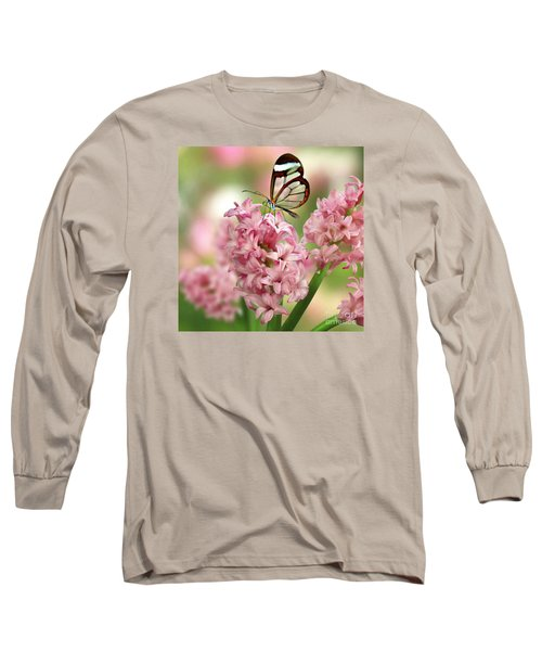 The Glasswing Long Sleeve T-Shirt by Morag Bates